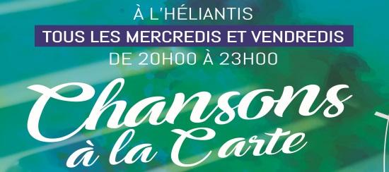 (Français) CHANSONS A LA CARTE