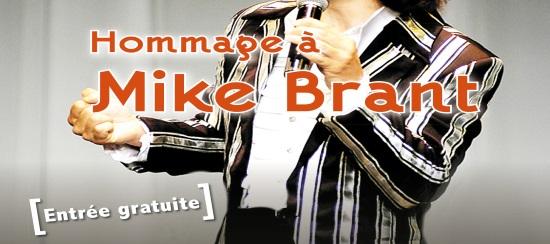 Le Mardi 24 Juillet  : Claude ARENA chante MIKE BRANT