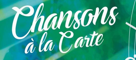 CHANSONS A LA CARTE